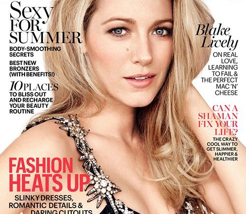 Blake Lively is Lovely on Marie Claire's July 2016 Cover