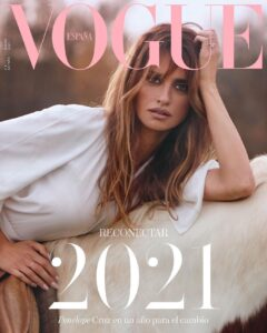 Penelope Cruz for Vogue Spain January 2021